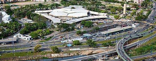 Assunto: Vista aérea da Rodoviária de Salvador  / Local:  Salvador - Bahia - BA  / Data: 01/2011