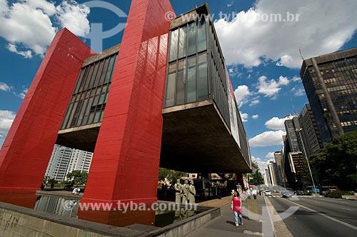 Assunto: Museu de Arte de São Paulo - MASP  / Local:  São Paulo - SP  / Data: 02/2010