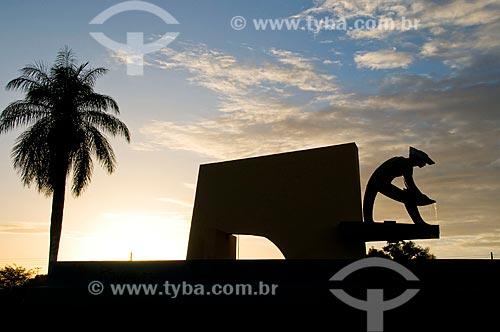 Assunto: Monumento ao Garimpeiro  / Local:  Boa Vista - Roraima - RR  / Data: 05/2010