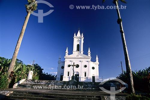 Assunto: Igreja Matriz do muncípio de Guaramiranga, na Serra de Baturité  / Local:  Ceará - CE  / Data: 2008