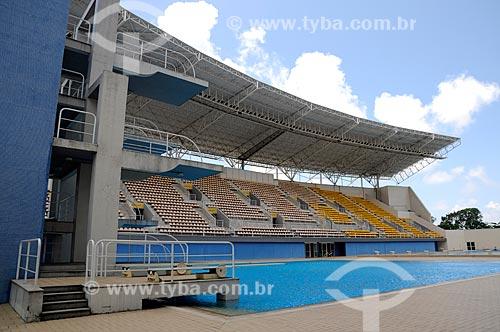Assunto: Interior do Parque Aquático Maria Lenk   / Local:  Barra da Tijuca - Rio de Janeiro - RJ  / Data: 12/2010