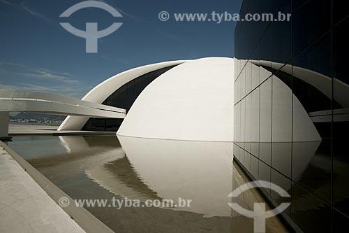 Assunto: Sede da Fundação Oscar Niemeyer no Caminho Niemeyer - Projeto de Oscar Niemeyer  / Local:  Niterói - Rio de Janeiro - RJ  / Data: 02/2007