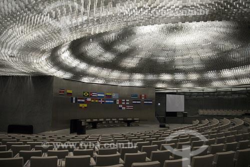 Assunto: Auditório do Parlamento Latino-Americano no Memorial da América Latina  / Local:  São Paulo - SP  / Data: 05/2007