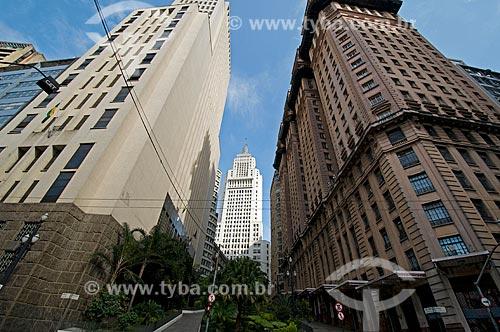 Assunto: Centro Histórico - Edifícios Banespa e Martinelli  / Local:  São Paulo - SP  / Data: 25/12/2009