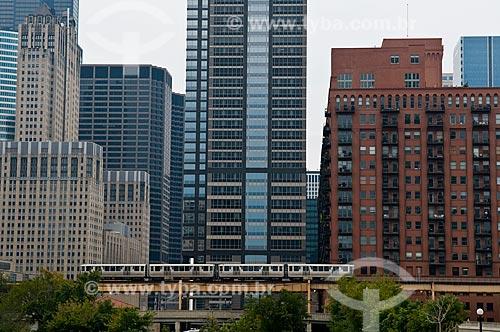 Assunto: Metro de supefície da cidade de Chicago  / Local:  Chicago - Illinois - Estados Unidos da América - EUA  / Data: 09/2009