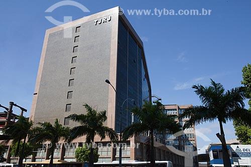 Fachada do Fórum do Tribunal de Justiça do Rio de Janeiro  - Rio de Janeiro - Rio de Janeiro - Brasil