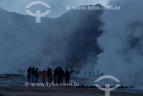 Assunto: Gêiseres de Tatio  / Local:  Deserto do Atacama - San Pedro de Atacama - Chile  / Data: 02/2011
