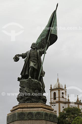 Assunto: Monumento a Pedro Álvares Cabral  / Local:  Glória - Rio de Janeiro - RJ - Brasil  / Data: 03/2011