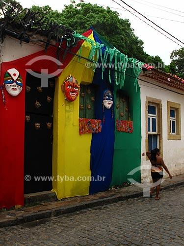 Assunto: Casario colonial na Rua do Amparo  / Local: Olinda - Pernambuco - PE - Brasil  / Data: 03/2011