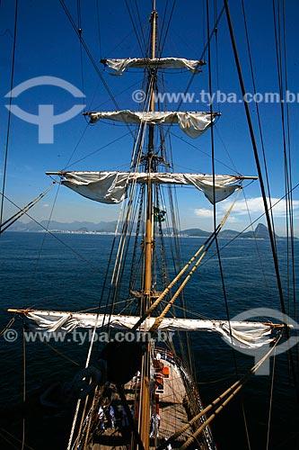 Assunto: Veleiro Cisne Branco - Marinha do Brasil  / Local: Rio de Janeiro - RJ - Brasil  / Data: 01/2010