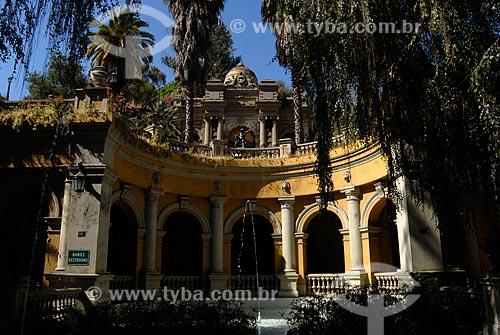 Assunto: Parque Cerro Santa Lucía / Local: Santiago - Chile - América do Sul / Data: 01/2011