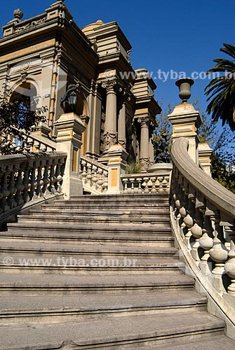 Assunto: Escadaria do Parque Colina Santa Lúcia / Local: Santiago - Chile - América do Sul / Data: 01/2011
