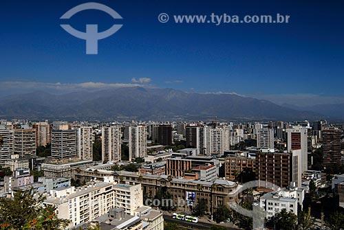 Assunto: Vista áerea de Cerro Santa Lucía / Local: Santiago - Chile - América do Sul / Data: 01/2011