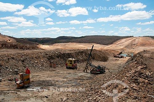 Assunto: Construção da barragem dos Milagres- Projeto de Integração do Rio São Francisco com as bacias hidrográficas do Nordeste Setentrional / Local: Penaforte - Ceara (CE) - Brasil / Data: 08/2010