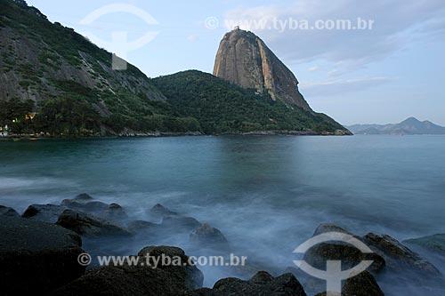 Assunto: Pão de Açucar com Praia Vermelha em primeiro plano / Local: Urca - Rio de Janeiro (RJ) - Brasil / Data: 02/2011