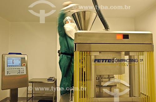 Assunto: Industria farmacêutica FARMANGUINHOS / Local: Rio de Janeiro (RJ) - Brasil / Data: 08/2010