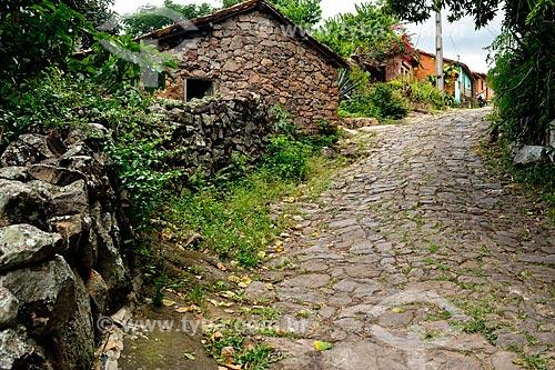 Assunto: Casas de pedras na Chapada Diamantina / Local: Igatu - Bahia (BA) - Brasil / Data: 02/2011