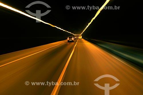 Assunto: interior do tunel Rebouças / Local: Rio de Janeiro (RJ) - Brasil / Data: 08/2010