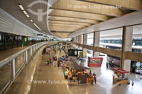 Assunto: Vista interna do Aeroporto Internacional Tancredo Neves - Aeroporto de Confins / Local: Confins - Minas Gerais (MG) - Brasil / Data: 03/2011