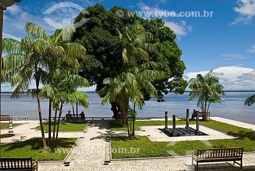 Assunto: Vista dos fundos da Casa das Onze Janelas e da Baía de Guajará / Local: Belém - Pará (PA) - Brasil  / Data: 04/2010