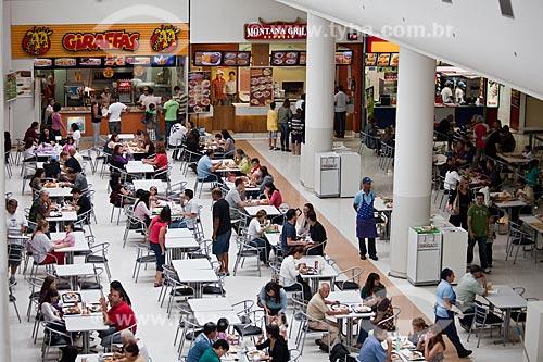 Assunto: Praça de alimentação do Mogi  Shopping  / Local: Mogi das Cruzes - São Paulo (SP) - Brasil / Data: 03/2011