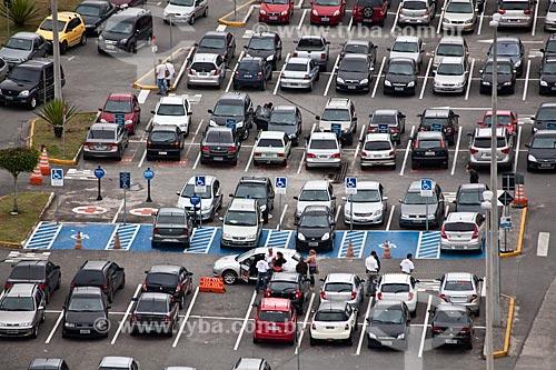 Assunto: Estacionamento do Mogi Shopping  / Local: Mogi das Cruzes - São Paulo (SP) - Brasil / Data: 03/2011