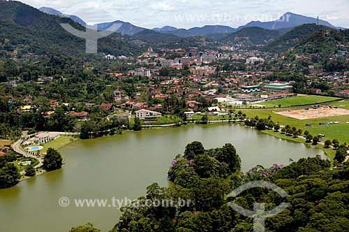 Assunto: Vista aérea da Granja Comary - Centro de treinamento da CBF / Local: Teresópolis - Rio de Janeiro (RJ) - Brasil / Data: 01/2011