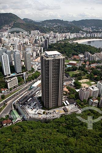 Assunto: Vista aérea da Torre Rio Sul / Local: Botafogo - Rio de Janeiro (RJ) - Brasil / Data: 03/2011