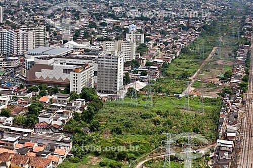 Assunto: Vista aérea do Madureira Shopping e do terreno da Via Light / Local: Madureira - Rio de Janeiro (RJ) - Brasil / Data: 03/2011