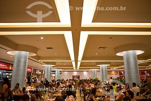 Assunto: Praça de alimentação no Madureira Shopping / Local: Madureira - Rio de Janeiro (RJ) - Brasil / Data: 03/2011