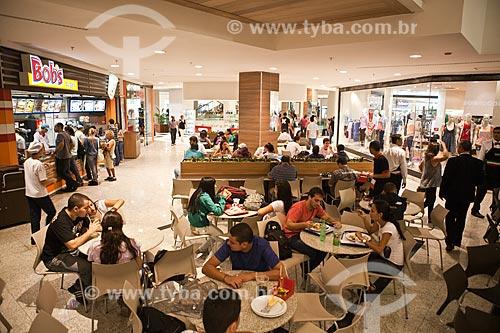 Assunto: Praça de alimentação no Shopping Cidade / Local: Belo Horizonte - Minas Gerais (MG) - Brasil / Data: 03/2011