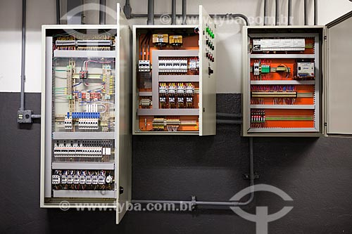 Assunto: Quadros de comando telefônico do Itaú Power Shopping / Local: Belo Horizonte - Minas Gerais (MG) - Brasil / Data: 03/2011