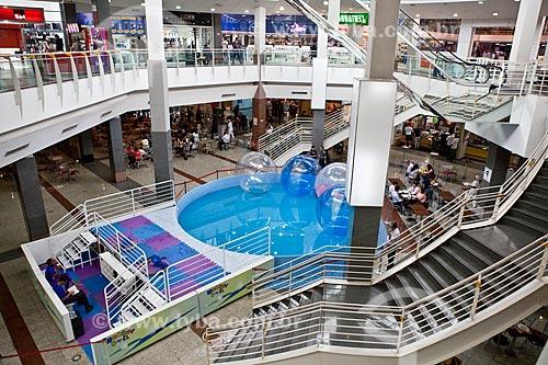 Assunto: Piscina no Itaú Power Shopping / Local: Contagem - Minas Gerais (MG) - Brasil / Data: 03/2011
