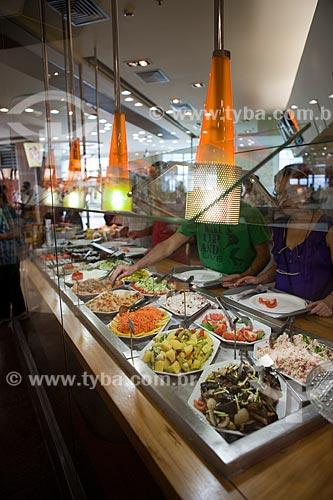 Assunto: Praça de alimentação do Botafogo Praia Shopping / Local: Botafogo - Rio de Janeiro (RJ) - Brasil / Data: 03/2011