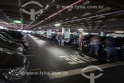 Assunto: Estacionamento do Botafogo Praia Shopping / Local: Botafogo - Rio de Janeiro (RJ) - Brasil / Data: 03/2011
