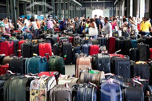 Assunto: Malas no setor de embarque e desembarque do Porto do Rio / Local: Rio de Janeiro - RJ - Brasil / Data: 03/2011