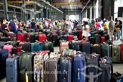 Assunto: Malas no setor de embarque e desembarque do Porto do Rio / Local: Rio de Janeiro (RJ) - Brasil / Data: 03/2011