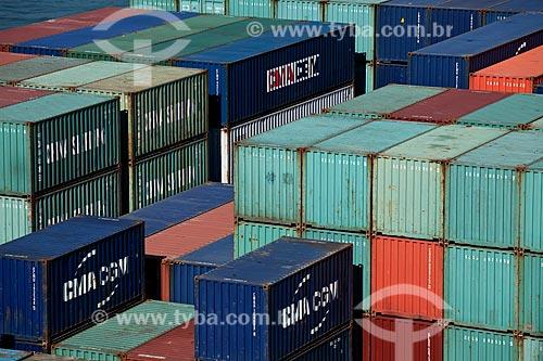 Assunto: Porto do Rio de Janeiro  -  Terminal de Container  / Local: Rio de Janeiro - RJ - Brasil / Data: 06/2010