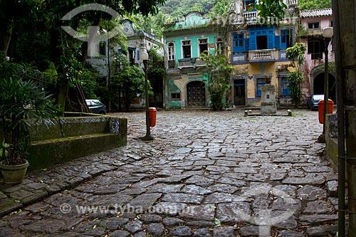 Assunto: Vista do Largo do Boticário / Local: Cosme Velho - Rio de Janeiro (RJ) - Brasil / Data: 03/2011