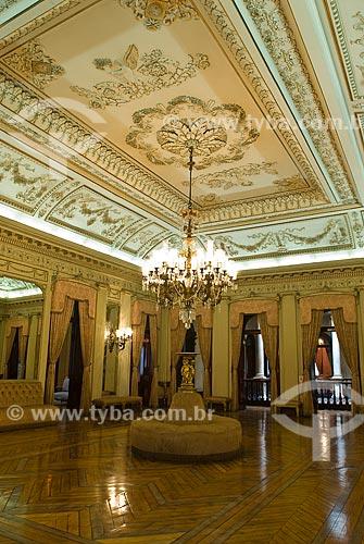 Assunto: Vista do salão nobre do Palácio do Itamaraty / Local: Centro - Rio de Janeiro (RJ) - Brasil  / Data: 12/2009