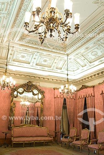 Assunto: Vista de salão do Palácio do Itamaraty / Local: Centro - Rio de Janeiro (RJ) - Brasil  / Data: 12/2009