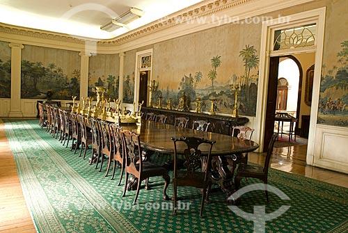 Assunto: Salão para banquetes do Palácio do Itamaraty / Local: Centro - Rio de Janeiro (RJ) - Brasil  / Data: 12/2009