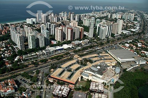 Assunto: Vista aérea da Barra da Tijuca / Local: Rio de Janeiro - RJ - Brasil / Data: 02/2011