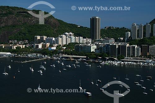 Assunto: Vista aérea da Enseada de Botafogo / Local: Urca - Rio de Janeiro - RJ - Brasil / Data: 02/2011