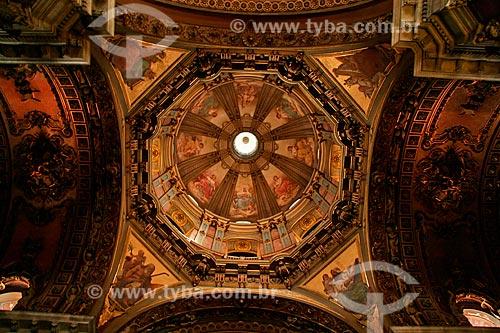 Assunto: Vista do teto da cúpula da Igreja de Nossa Senhora da Candelária / Local: Centro - Rio de Janeiro (RJ) - Brasil  / Data: 03/2011