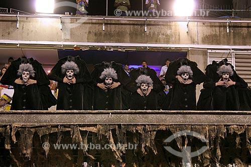 Assunto: Comissão de Frente da Escola de Samba Unidos da Tijuca / Local: Rio de Janeiro (RJ) - Brasil  / Data: 03/2011