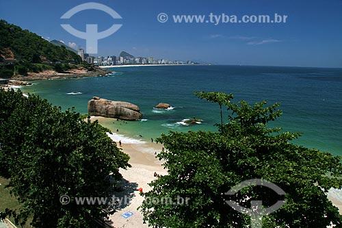 Assunto: Vista do Hotel Sheraton para a praia do Vidigal / Local: Leblon - Rio de Janeiro (RJ) - Brasil  / Data: 02/2011