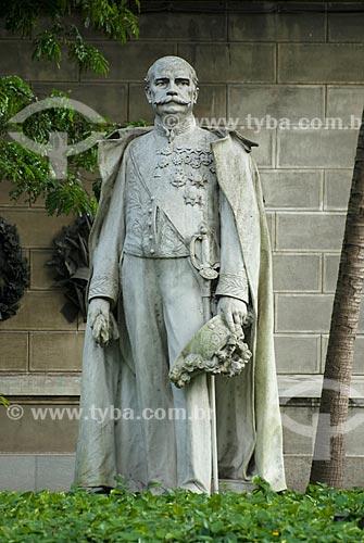 Assunto: Estátua do Barão do Rio Branco no Palácio do Itamaraty / Local: Centro - Rio de Janeiro (RJ) - Brasil  / Data: 11/2009