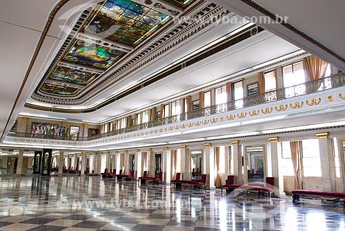 Assunto: Salão do Palácio Duque de Caxias / Local: Centro - Rio de Janeiro (RJ) - Brasil  / Data: 12/2009