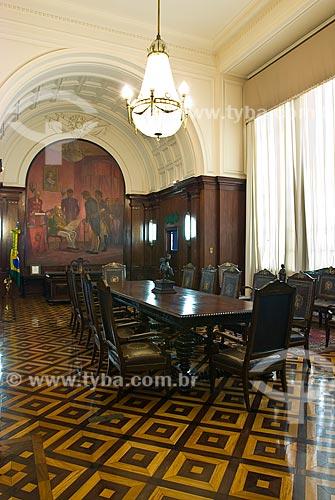 Assunto: Sala de reunião do Palácio Duque de Caxias / Local: Centro - Rio de Janeiro (RJ) - Brasil  / Data: 12/2009